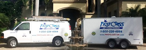 When we service your Air Conditioner in Fort Myers FL, your satifaction means the world to us.